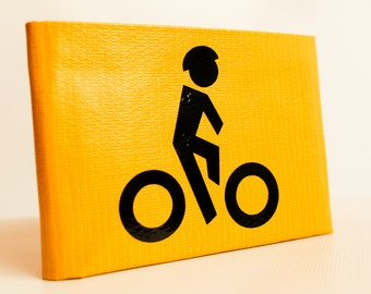 Bicycle Duct Tape Wallet - by jDUCT