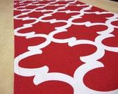 Red Table Runner - Christmas Table Runner - Wedding Table Decor
