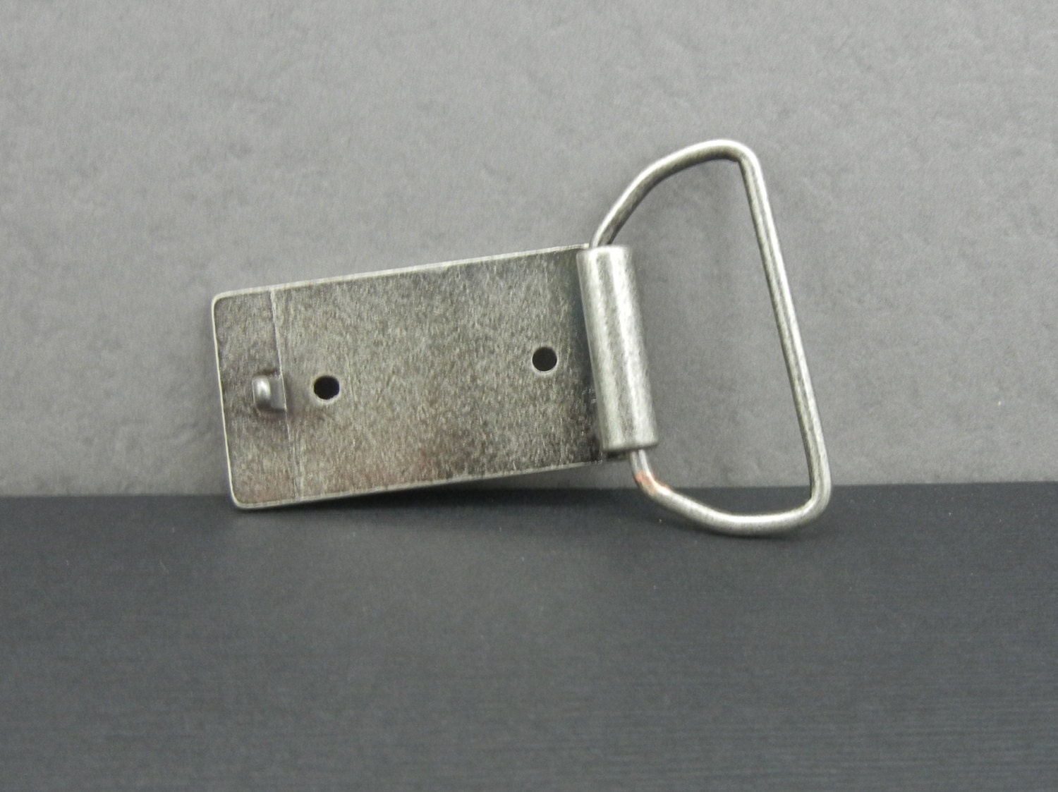 how to make a belt buckle from scratch