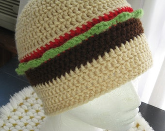 Burger  Hat  Adult Hold the Cheese