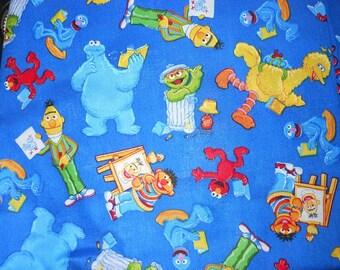 MadieBs Big Bird Cookie Monster Seasme Street  Animals  Cotton Toddler/Crib Sheet Set