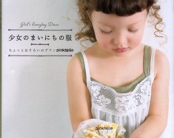 Girls Everyday Dress Japanese Craft Book