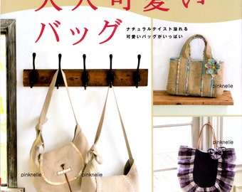 Linen and Cotton of Bags n2828 Japanese Sewing Book