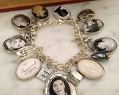 Emily Dickinson Charm Bracelet - Poetically Charmed Bracelet