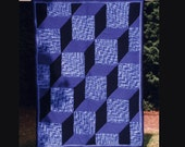 Cubism - PDF pattern for knitted afghan