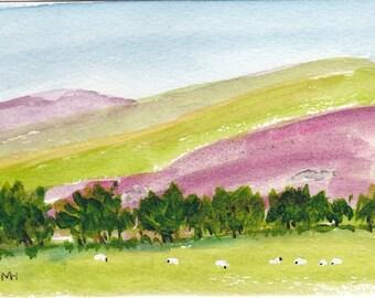 Irish Landscape Original Painting