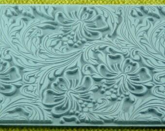 HIBISCUS Texture Rubber Stamp TTL-106