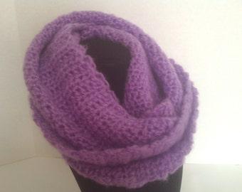 Lavender cowl