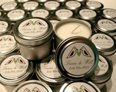 Custom Listing for Jori Wedding Favor Candles Travel Tin Gift