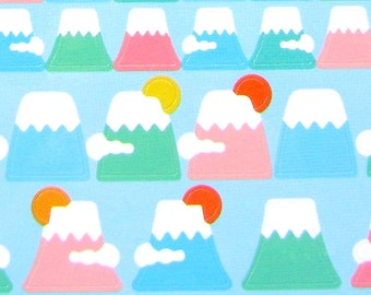 Mount Fuji Stickers - Japanese  Stickers - Mountain Stickers (S191)