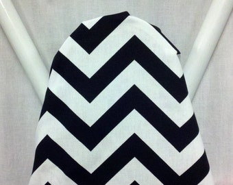 CHEVRON ZIGZAG BLACK and White ironing Board cover  wedding or shower gift - housewarming gift - gift for wife - gift for mom