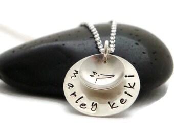 Personalized Greyhound Necklace - Greyhound Jewelry - Dog Lovers Necklace - Custom