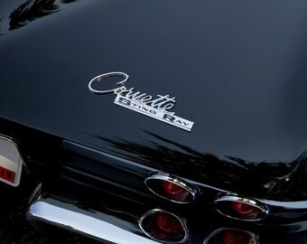 Corvette Sting Ray - Automotive Art -  Home Decor