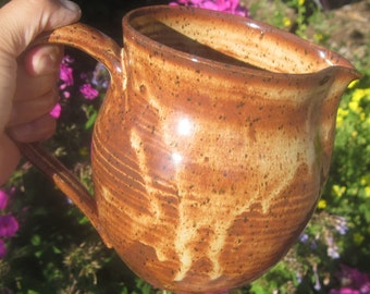 Pitcher COLORADO that holds over 5 Cups - Handmade Pottery