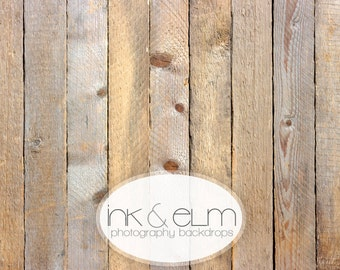"""Backdrop 6ft x 5ft NEW, Vinyl Photography Floordrop Backdrop, Old Wood Floor, Vintage Wood Floor Drop, Wood background, """"Wooden Nickels"""""""