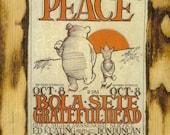 Grateful Dead Concert Poster - Wooden Plaque
