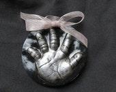 Baby OUTPRINT Handprint/Footprint Ornament 3D-babys first christmas-