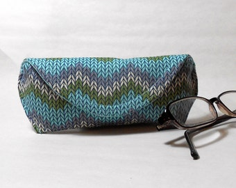 Eyeglass or Sunglass Case - Knit One Purl Two