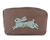 White Rabbit Cosmetic Bag (Sale)
