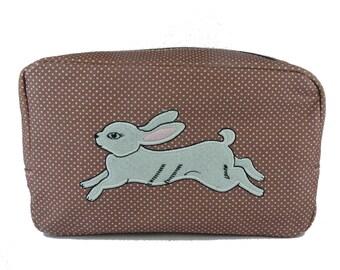White Rabbit Cosmetic Bag (Sale)
