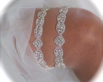 Garter / Wedding Garters / Ivory Garter / Bride Garter Set