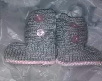Jaden Baby Booties