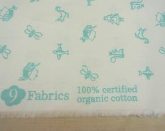 100% Organic Cotton Fabric, Maman Bleu, DIY, Sewing, Crafts