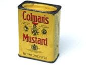 Vintage Colman's Mustard Tin