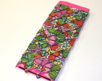 Flower scale wallet - duck duct tape