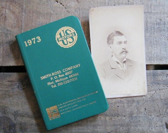 Instant Collection: Vintage Photograph / Cabinet Card & Diary - Unused