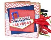 Las Vegas Scrapbook - Vacation - Casino -Paper Bag Album