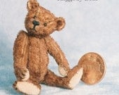 Raggedy Bear Miniature Teddy Bear Kit - Pattern - by Emily Farmer