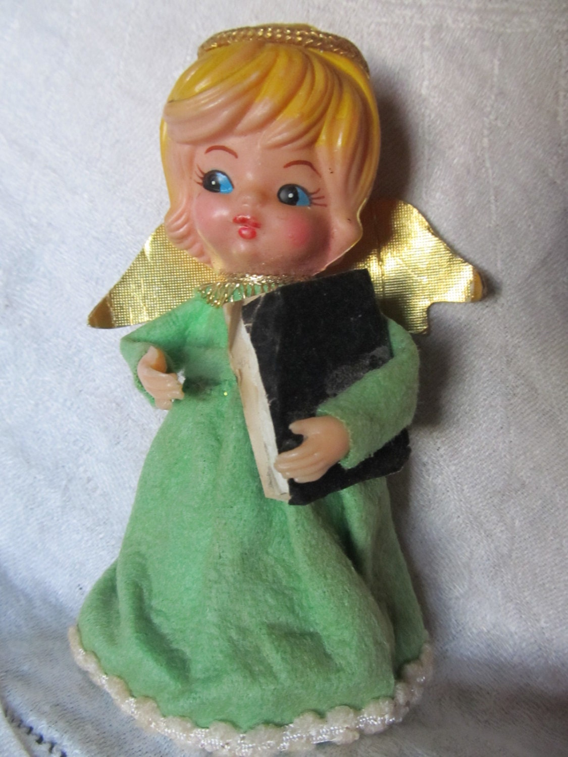 Vintage 1950 S 60 S Angel Tree Topper Or By Auntsuesvintage