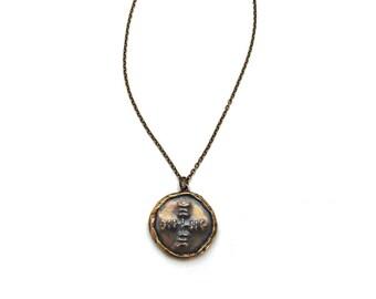 Large Medallion Necklace