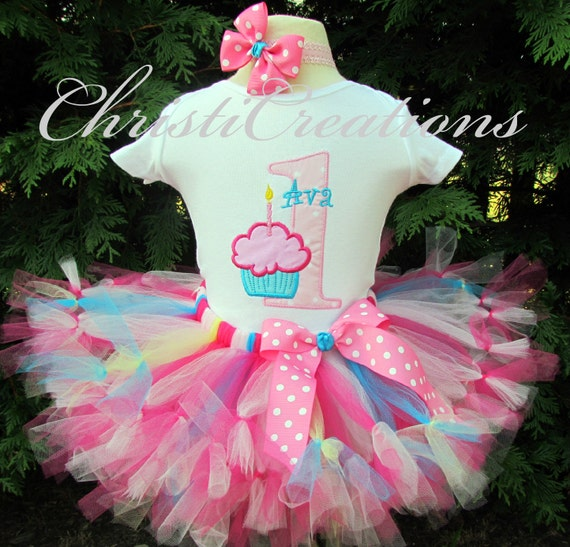 Cotton CandyBaby Girl 1st Birthday Petti Tutu By