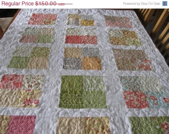 Modern Quilt , pillow, and pillow case in four sizes