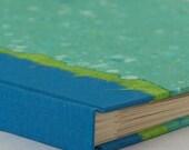 Scrapbook Album Turquoise Terrazzo-Great for Wedding,Scrap Book, Shower, Memories, Art Journal