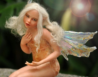 order your personalized OOAK one of a kind fantasy art fairy doll