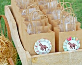The Vintage Horse Show Collection - Fantastic Favor Bags SET of SIX by Mary Had a Little Party