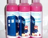 Doctor Who Soap The Girl Who Waited Sparkling Apple Bubble Me Up 9 Oz  Body Wash Geeky Bubble Bath Shower Gel  Bubble Me Up 9 Oz