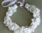 Bridal Hair Wedding Hair Floral Hair Wreath Fascinator