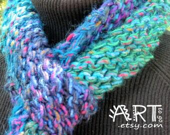 Stary Twilight  Knit Scarf
