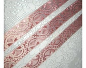 Marie's Fainting Couch - French Regency Woven Jacquard Ribbon Trim