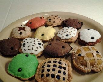 Kids Toy Stuffed Plush Pastry Monsters Pastry-San 1 Dozen Mini Plushies