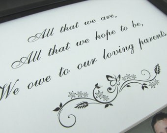 All That We Are 8 x 10 Photo Mat Frame Design M101