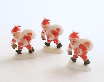 Vintage Christmas Ornaments Decorations Santa Claus