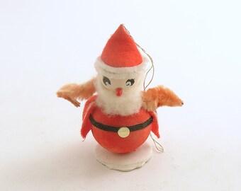 Vintage Christmas Ornament Santa Claus Decoration