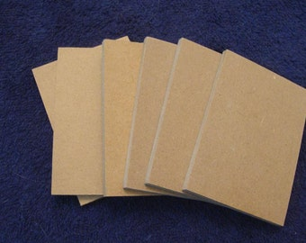 """Blank ATCs ACEOS from 1/4"""" Thick Mdf Hand Cut"""