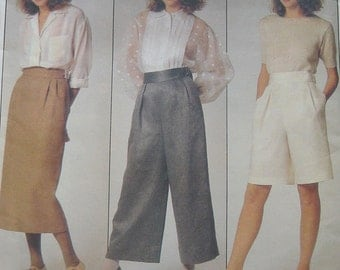 Vogue Perry Ellis Pattern Skirt Pants Shorts 1353