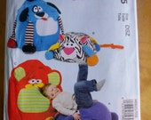 McCalls Crafts M6625 childrens chairs and pouf Sewing Pattern